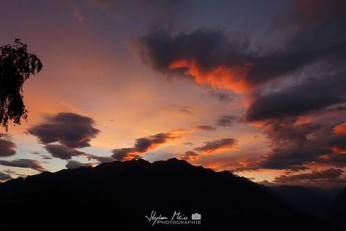 Sunset in Ticino