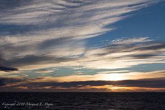 Another Spectacular Sunrise, this Time at South End of Antarctic Sound 1