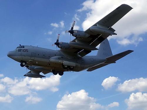 164105/NY-105 KC-130T Northolt 7-7-18