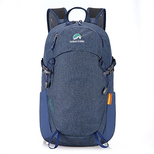 Paladineer Hiking Backpack Travel Daypack Sports Bag for Camping,Climbing,Mountaineering,Cycling 28L Blue