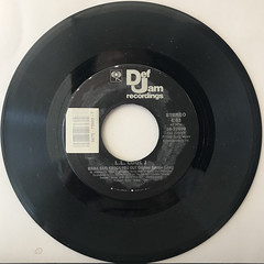 L.L. COOL J:AROUND THE WAY GIRL(RECORD SIDE-B)