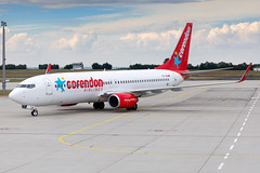 TC-TJU Corendon Airlines Boeing 737-8HX