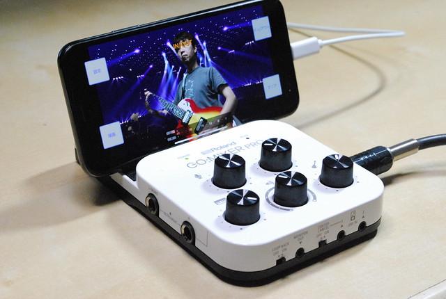 iOS/Androidで使える小型ミキサー、Roland GO:MIXER PROがとっても優秀!