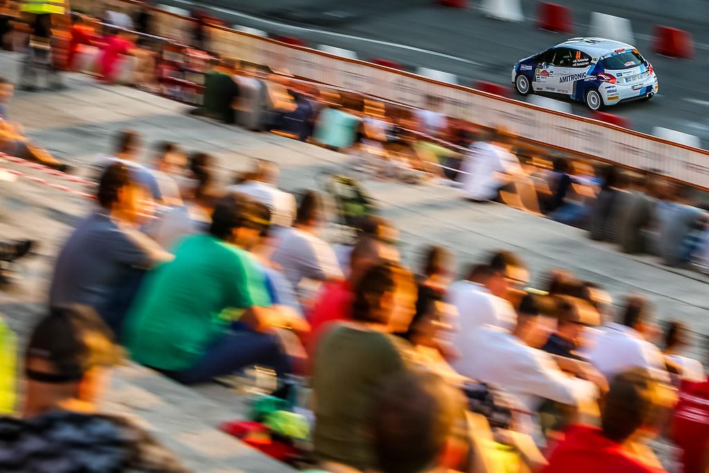 44 HOKKANEN Miika (fin), HAMALAIEN Reeta (fin), Peugeot 208, action during the 2018 European Rally Championship ERC Rally di Roma Capitale,  from july 20 to 22 , at Fiuggi, Italia - Photo Thomas Fenetre / DPPI