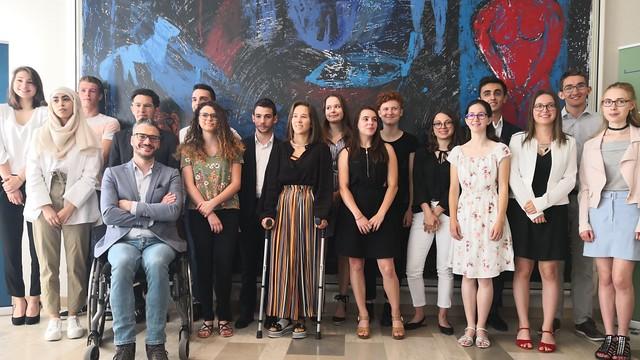 Cérémonie de remise des prix au rectorat de l'académie de Lyon