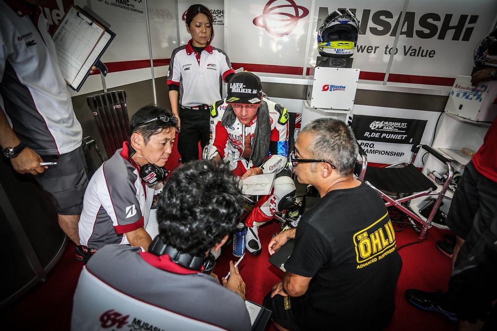 8,Hours,Suzuka,2018,EWC,MuSASHi RT HARC PRO.Honda,Ryo MIZUNO,Dominique AEGERTER,Randy de PUNIET