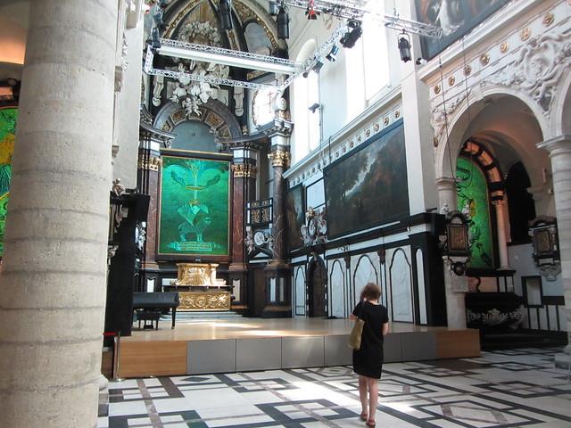 Iglesia San Agustin  - 42747324424 8df4ab09ca z - Un artista contemporáneo decorando una Iglesia: JAN FABRE