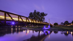 Predstrian Bridge, Houston Police Officer's Memorial