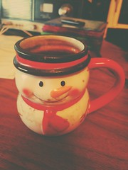 I love you filthy snowman coffee mug.