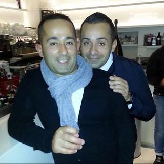 Raffaele Frugis con il fratello