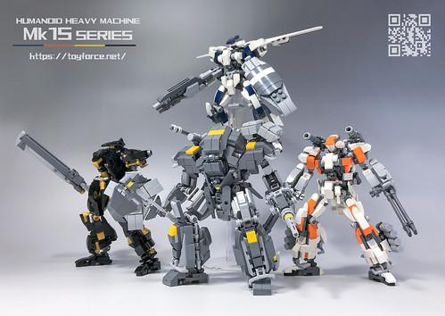 LEGO Robot Mk15 series-01S
