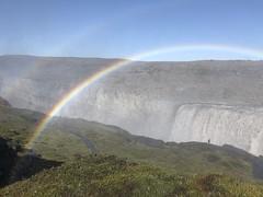 Double rainbow, Dettifoss, Iceland