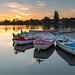 Sunset at Thorpeness Suffolk