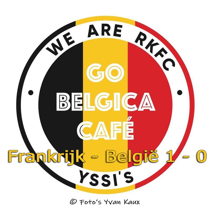 Go Belgica dorp Frankrijk België 1 - 0