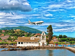 "Corfu 21 ""Seconds from touchdown"""