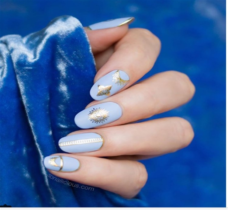 30+ Fabulous oval nail art Designs trendy gallery