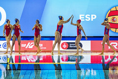 Sáb, 14/07/2018 - 21:20 - Inauguració Campionat d'Europa LEN Waterpolo