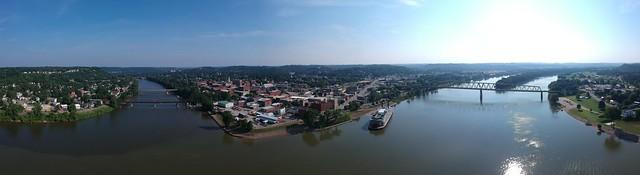 Panorama in Marietta, OH