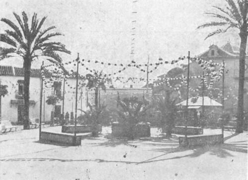 1918. La velada de Santa Ana, hace un siglo
