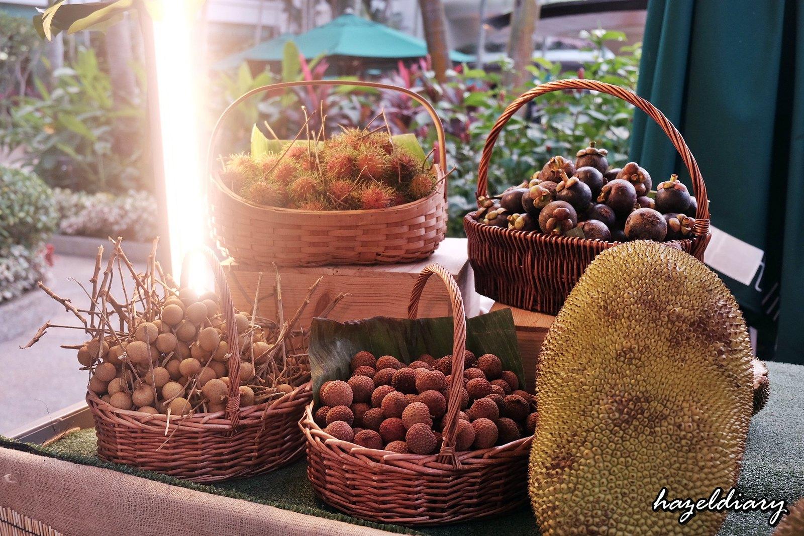 The Line Shangri-La Hotel-Durian buffet-Outdoor Kiosk