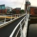 Bridge over the Aire at Leeds Dock