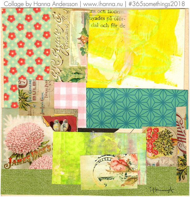 A Blend of Garden flowers - Collage no 170 by iHanna