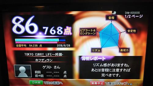 ホフディランカラオケ TOKYO CURRY LIFE