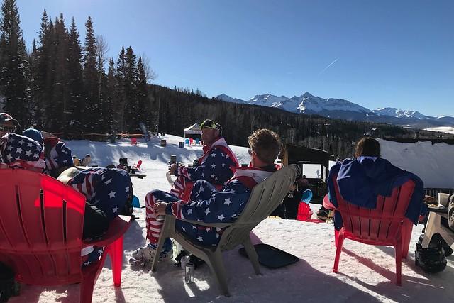 Sun, 2018-01-14 15:52 - スキーのTeam USAが来ているみたい