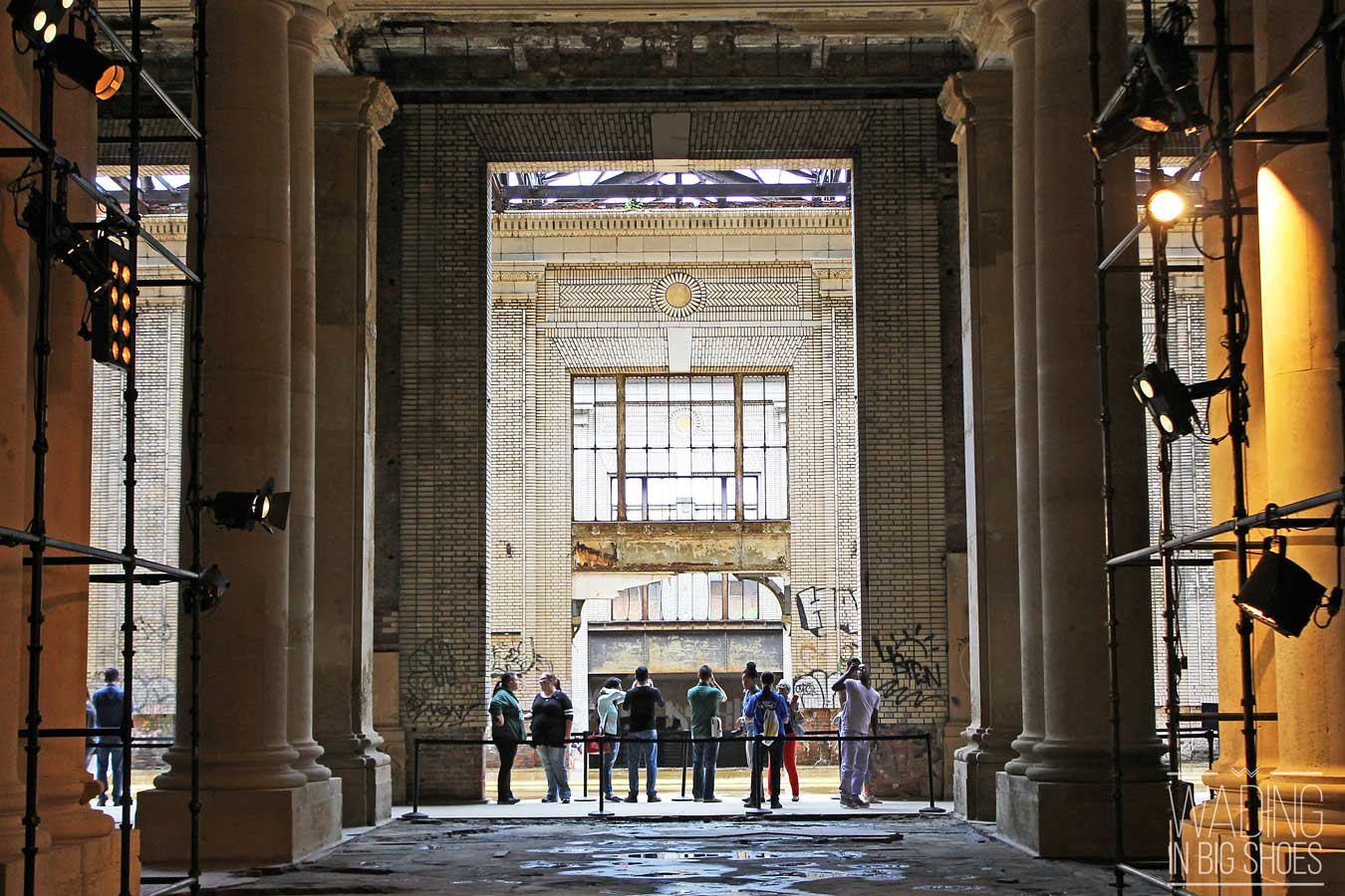 A Look Inside The Soon-To-Reopen Michigan Central Station (via Wading in Big Shoes)