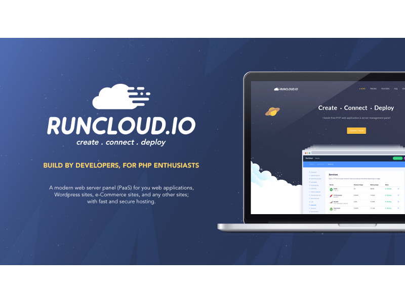 RunCloud - Hassle free PHP web application andserver
