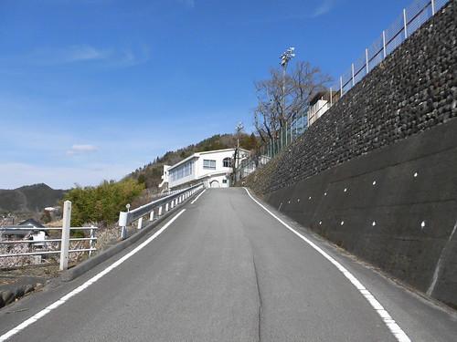 ゆるキャン△本栖高校ロケ地(下部中学校跡)