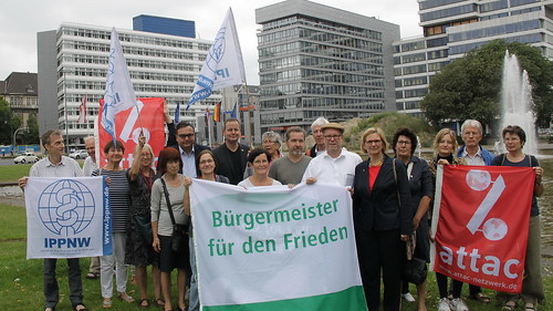 Flaggentag in Berlin am 7. Juli 2018, Foto: Attac Berlin