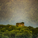 La tour de la colline de St-Triphon