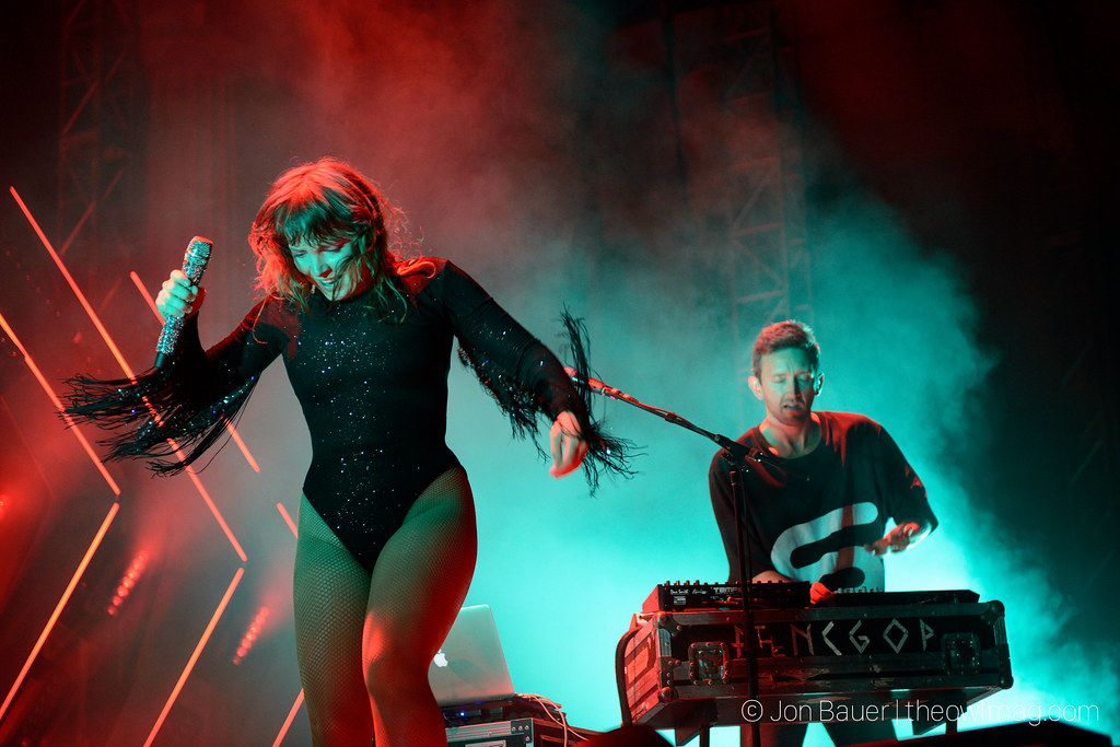Sylvan Esso @ The Greek Theatre, Berkeley 7/12/2018
