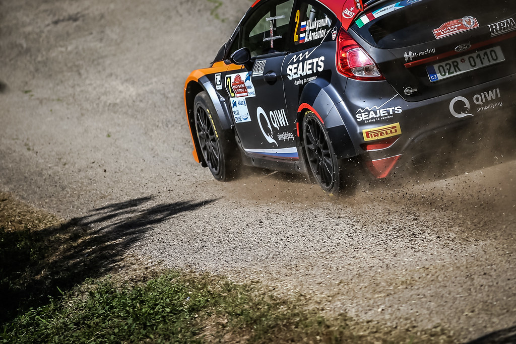 02 Alexey Lukyanuk (RUS), Alexey Arnautov (RUS), Russia Performance Motorsport, FORD FIESTA R5, action during the 2018 European Rally Championship ERC Rally di Roma Capitale,  from july 20 to 22 , at Fiuggi, Italia - Photo Thomas Fenetre / DPPI