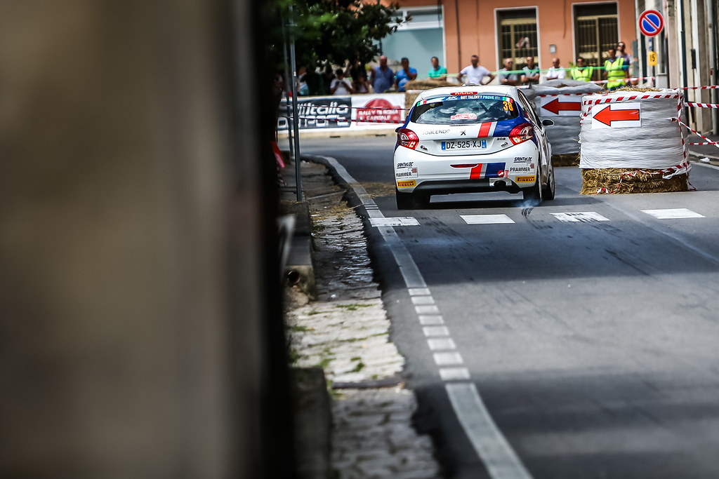 38 Wagner Simon (aut),  WINTER Gerald (aut), Peugeot 208, action during the 2018 European Rally Championship ERC Rally di Roma Capitale,  from july 20 to 22 , at Fiuggi, Italia - Photo Thomas Fenetre / DPPI