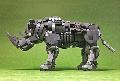 LEGO Mecha Rhinoceros-02