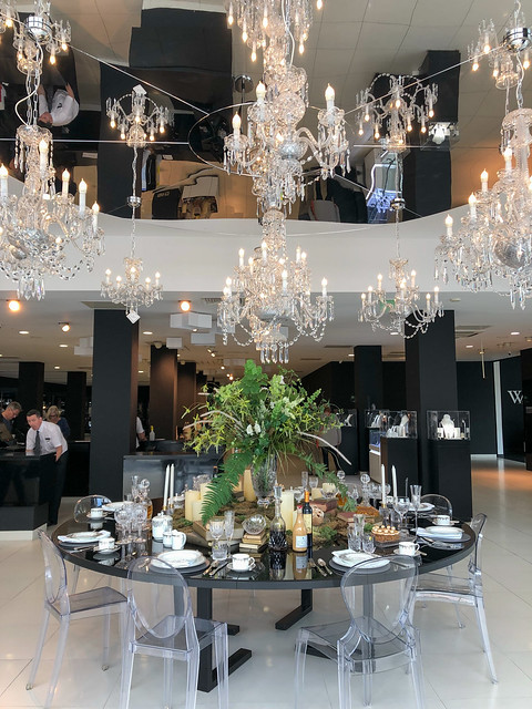 House of Waterford crystal showroom