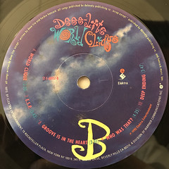 DEEE-LITE:WORLD CLIQUE(LABEL SIDE-B)
