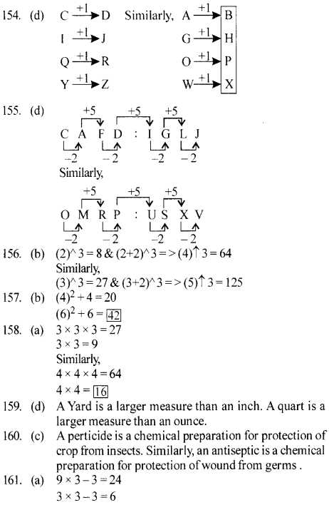 ssc-reasoning-solved-papers-analogy - 31