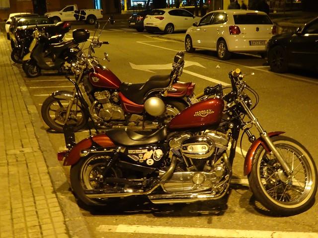Una en plan Harley 2