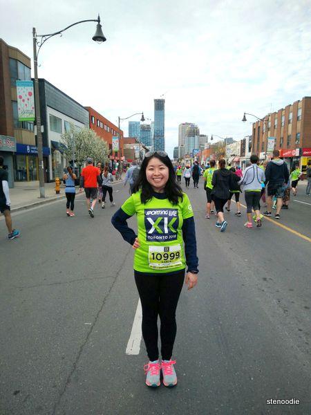 Sporting Life 10K 2018 run