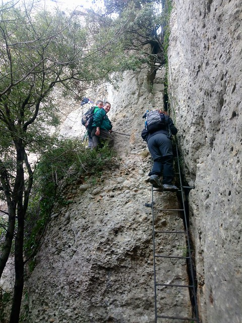 2018-03-18 De la Morera pel Grau del Carbassal a la cova Santa Corbatera