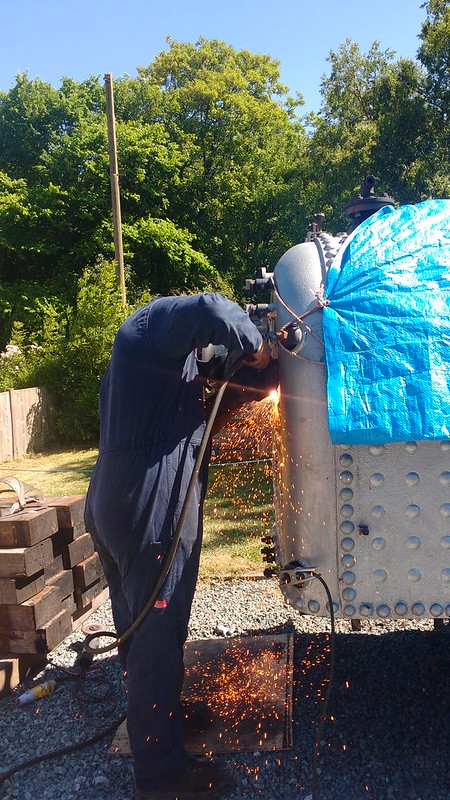 Cutting Into The Boiler