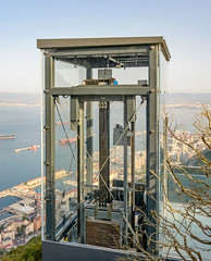 Skywalk Gibraltar 9 - photo taken for Bovis Koala JV by MeteoGib's photographer, Stephen Ball