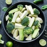 зелёные овощи800