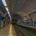 Lisbon, Portugal: Parque metro station (Blue [Linha Azul] Line)
