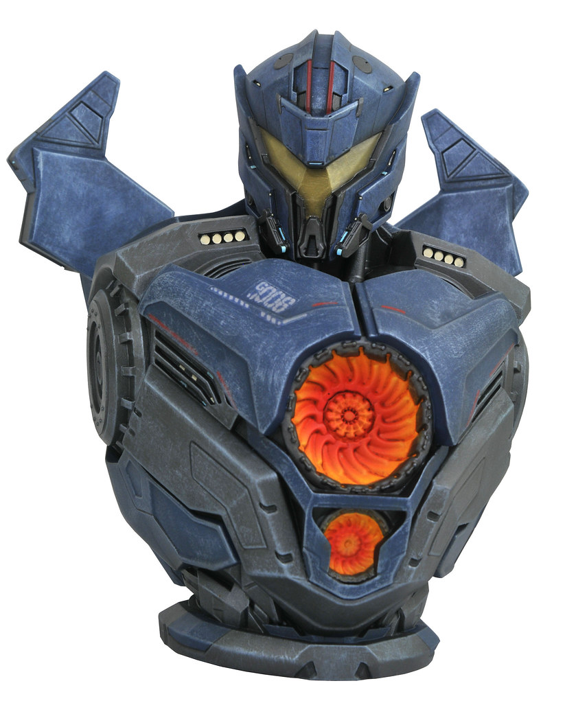 Pacific Rim: Uprising Gipsy Avenger Bust Bank from DIAMOND SELECT TOYS!