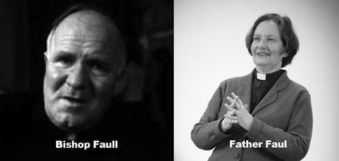 Father Faul Bishop Faull with names inverted