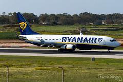 Ryanair Boeing 737-8AS  |  EI-DYX  |  LMML